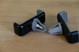 держатели для телефона на дефлектор с улетевшим кусочком резинки