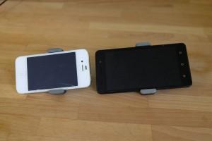 держатели для телефона на дефлектор с телефонами
